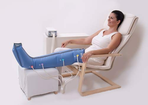 Lymphoedema Treatment - Compression pump